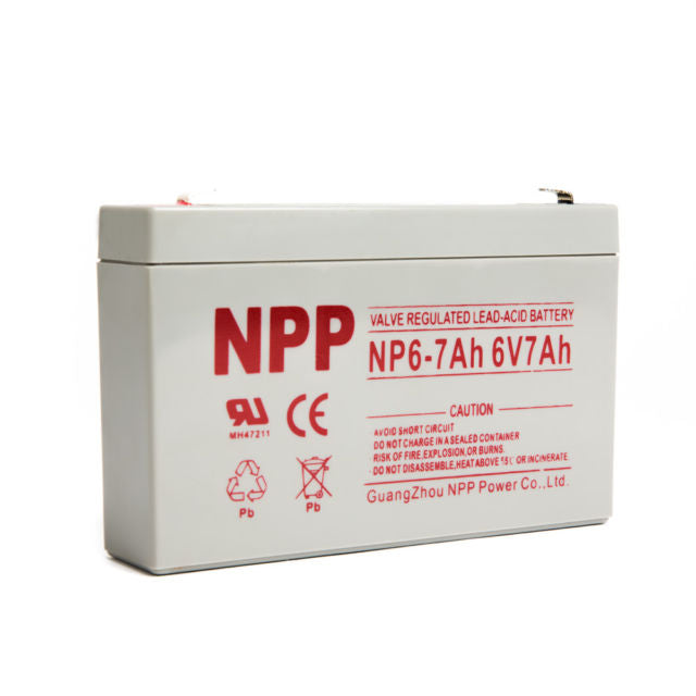 SLA Battery - 6v 7ah