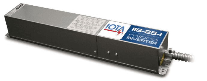 IOTA IIS-25-I - 25w Emergency Battery Backup Micro Inverter
