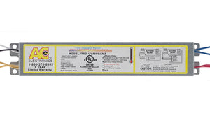 AC Electronics EPQ-A40PBXS/L - 4x40W 4-pin CFL Ballast - Side Leads