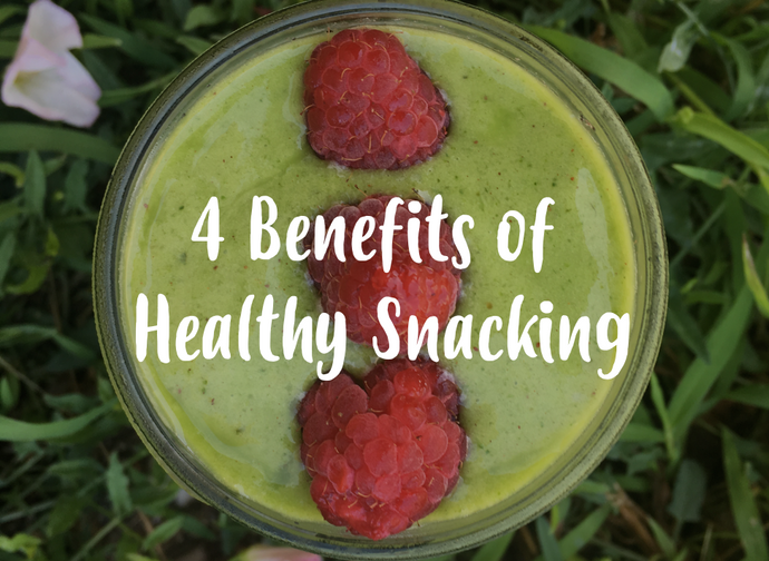 Four benefits of healthy snacking