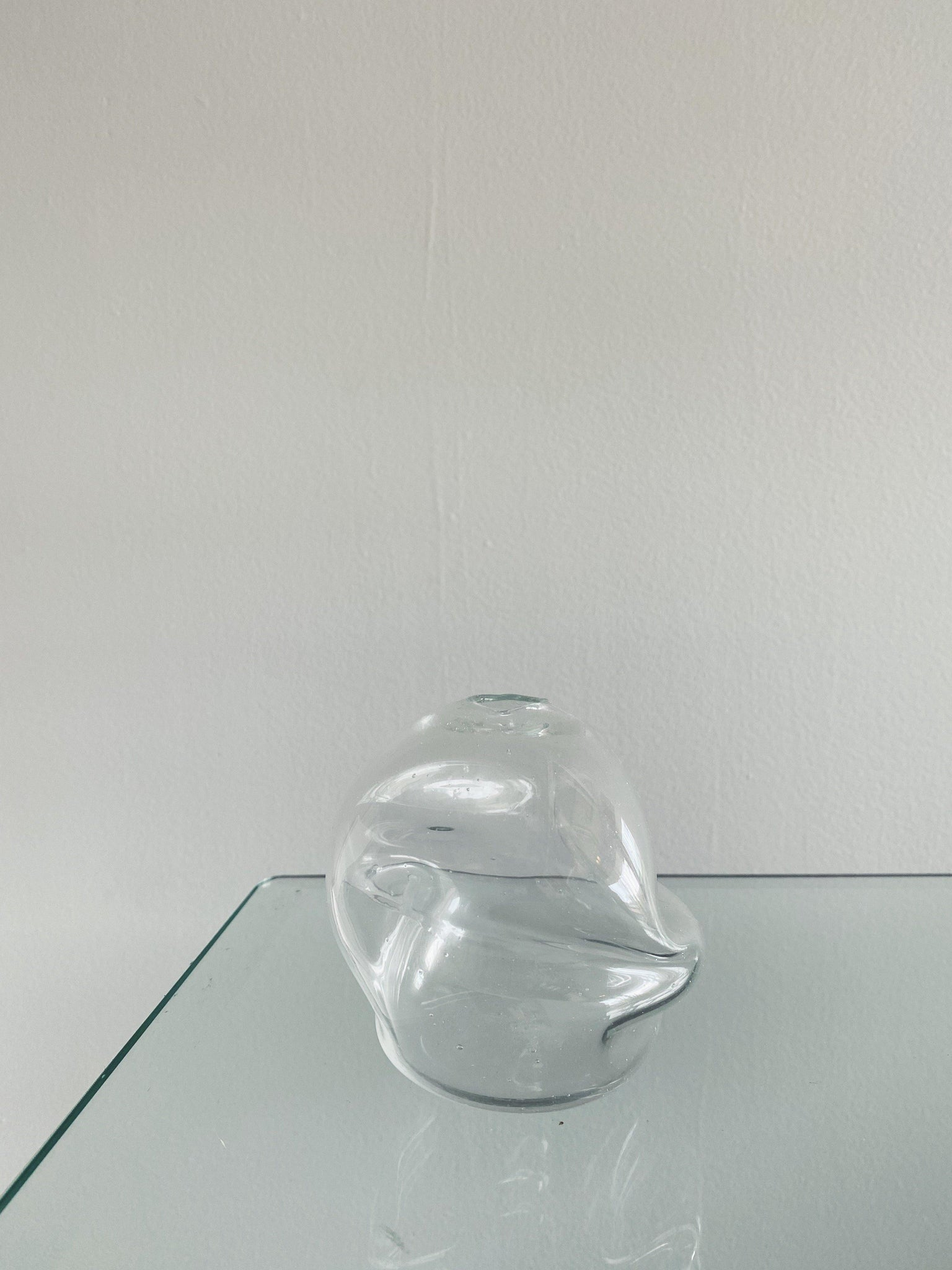Goodbeast Bud Vase - Clear Crushed