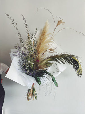 Bouquets - The Dried Bouquet - The Wild Bunch Florals - The Wild Bunch Florist - Vancouver Flower Shop Delivery