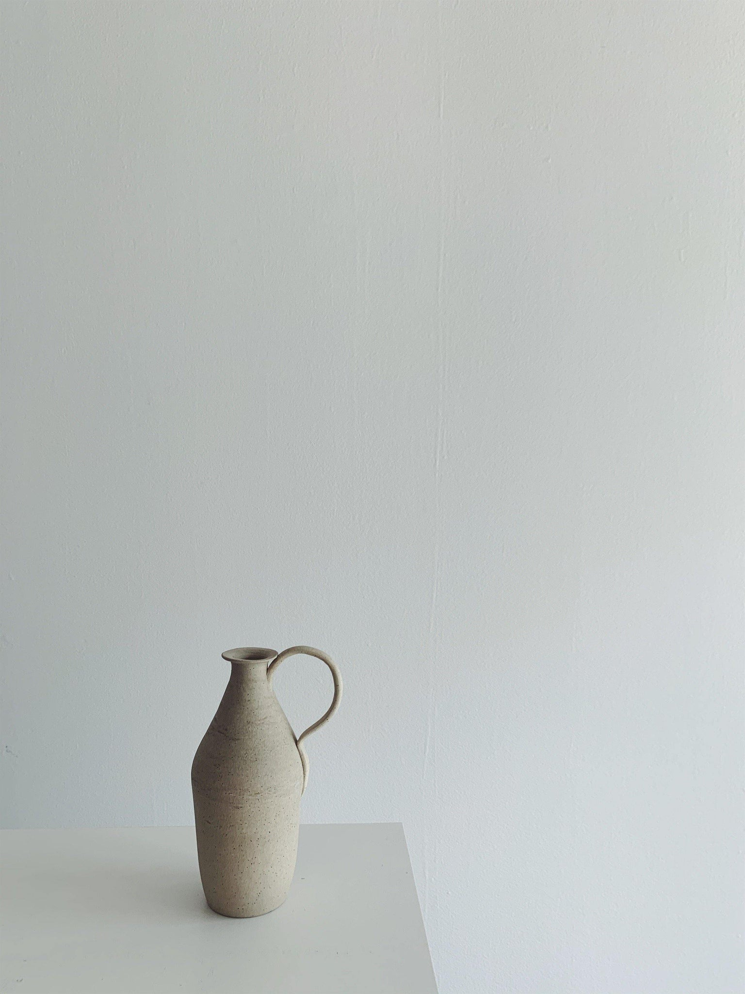 Caitlin Prince Ceramic Vase #2 - Speckled Grey