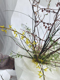 Bouquets - The Branchy Spring Bouquet - The Wild Bunch Florals - The Wild Bunch Florist - Vancouver Flower Shop Delivery