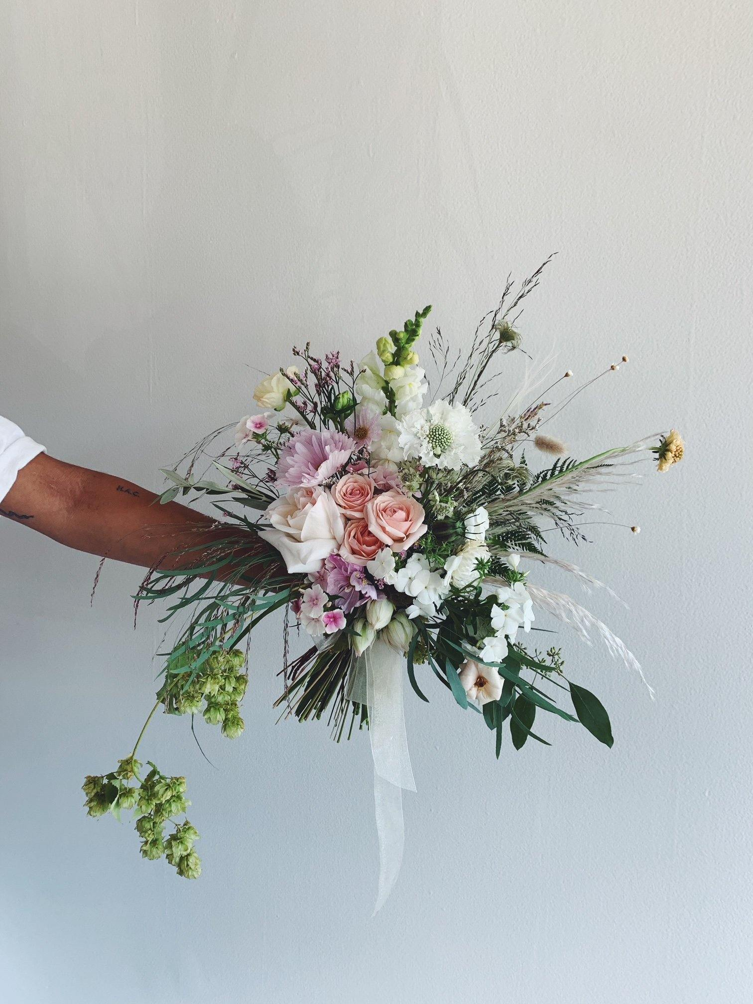 Weddings - The Signature Bridal Bouquet - The Wild Bunch Weddings - The Wild Bunch Florist - Vancouver Flower Shop Delivery