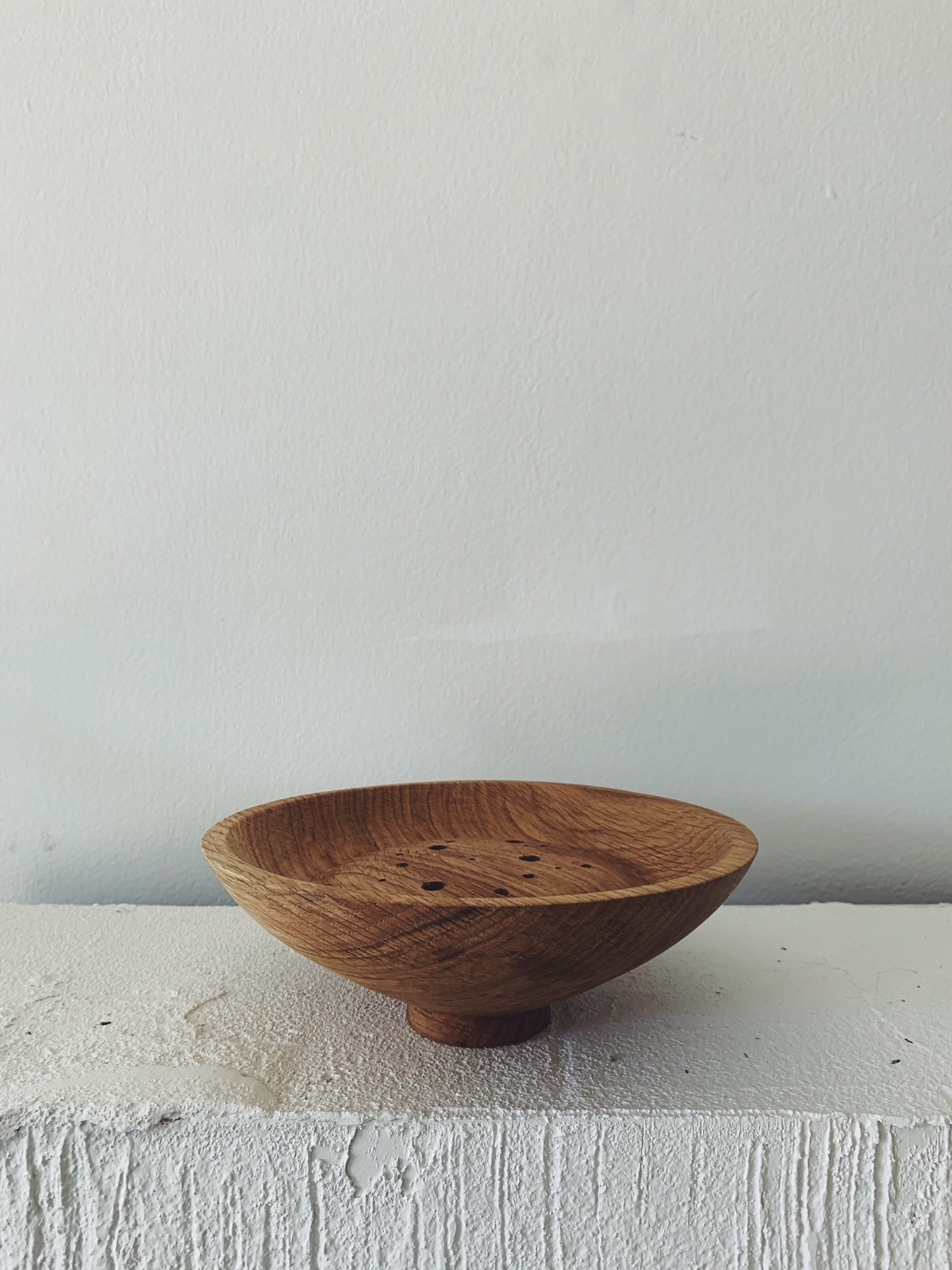 Elise McLauchlan Dried Flower Ikebana Bowl - #5 Oak