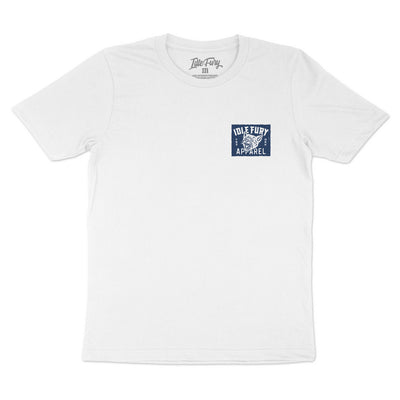 High Voltage - White T-Shirt - Front & Back Print
