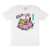 Lost In Paradise - White T-Shirt - Front Print
