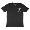 Skull Emblem - Black T-Shirt - Pocket Print