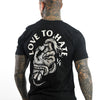 Love To Hate - Black T-Shirt - Front & Back Print