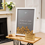 Sign-Your-Name-Frame - Wedding guestbook dropbox