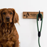 Personalised dog lead hook