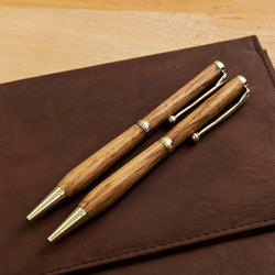 Handmade whisky wood pen