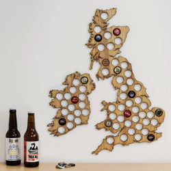 Beer Cap UK Map
