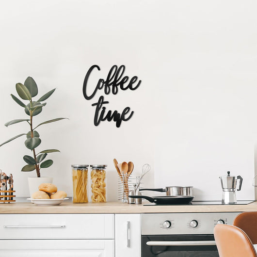 NEW! Coffee Time Wall Art Sign
