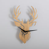 Stag head clock