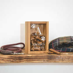 Personalised dog treats box
