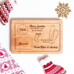 Christmas board for Santa - Christmas Eve for children