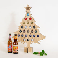 Personalised Beer Cap Advent Calendar