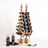 Personalised oak Advent calendar for drinks