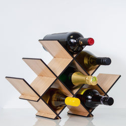 NEW! Wooden wine rack