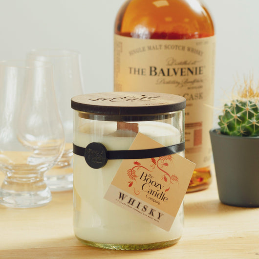 Whisky Candle