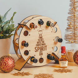 Miniatures drinks advent calendar countdown