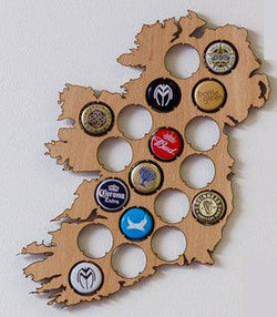 Beer Cap Ireland Map