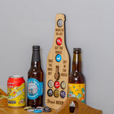 Beer to do list decider and bottle cap holder