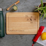 Keep the sea plastic free chopping board