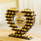 Personalised Ferrero Rocher stand for weddings and celebrations