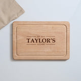 Personalised Family Surname Chopping  Board