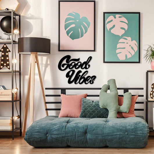 NEW! Good Vibes Wall Art Sign