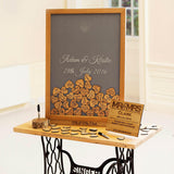 Sign-Your-Name frame stand, easel - Stag Design