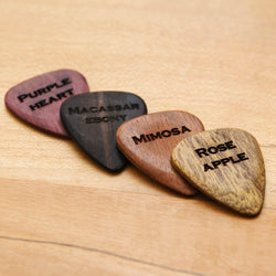 Personalised wooden plectrum - Stag Design  - 2