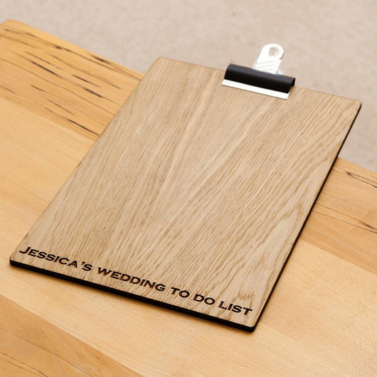 Wedding To Do List clipboard - Stag Design  - 1