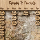 Personalised Birthday Board with 25 discs - Stag Design  - 2