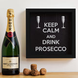 Keep Calm And Drink Champagne/Prosecco/Wine/Beer memory box