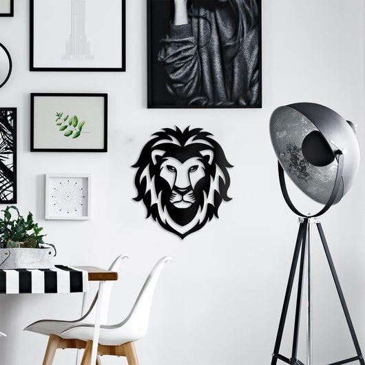 NEW! Lion Head Wall Art Sign