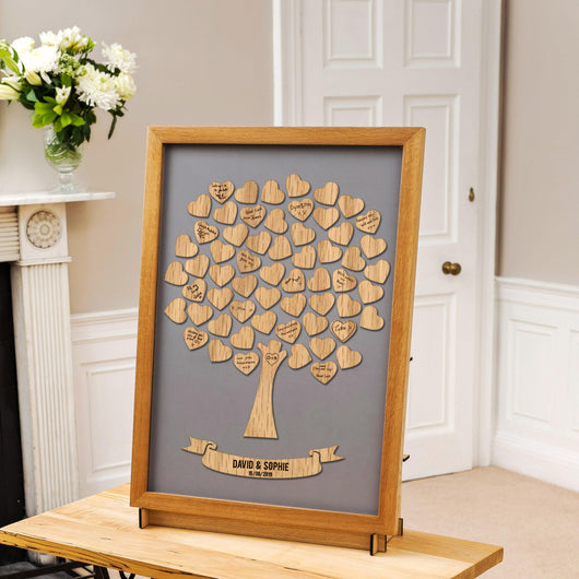 Wedding tree guestbook