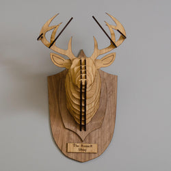 Wooden Stag's head
