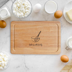 Children's Baking Chopping Board