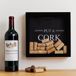 'Put a cork in it' memory box