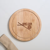Personalised Sushi Serving Board