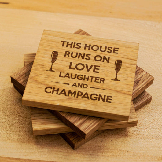 This house runs on love, laughter and ... coasters