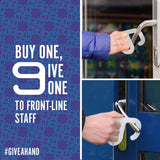 "The ""hands off"" door opener - FOR EVERY ONE PURCHASED, ONE WILL BE DONATED TO A FRONT LINE STAFF"