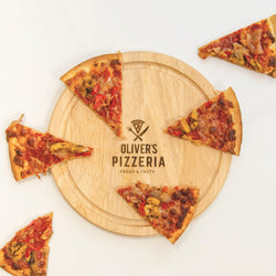 Personalised Pizza Serving Board