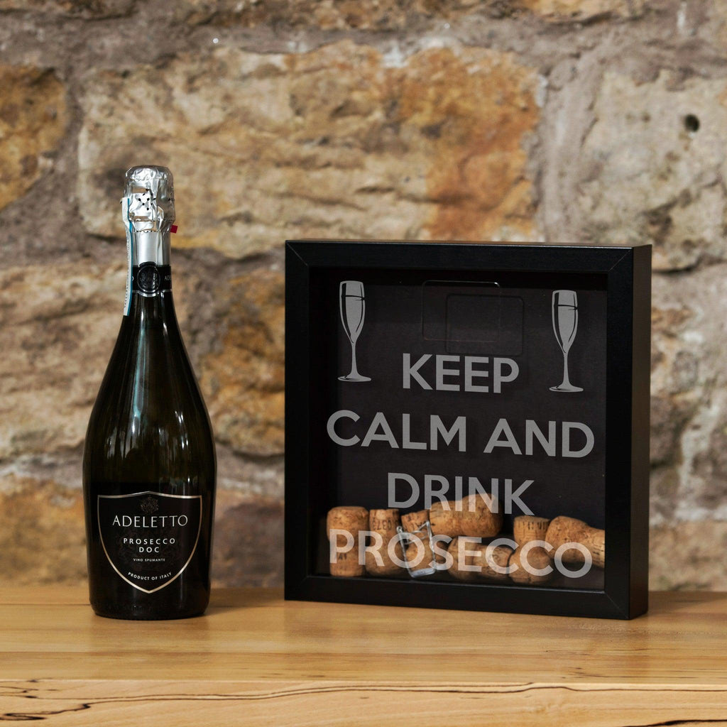 Cork Wedding Memory: Prosecco Cork Memory Box