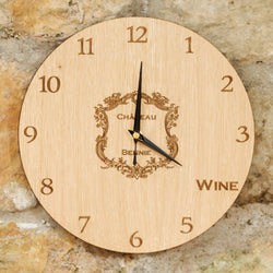 It's wine o'clock at your chateau