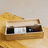 Personalised wine/champagne/whisky box
